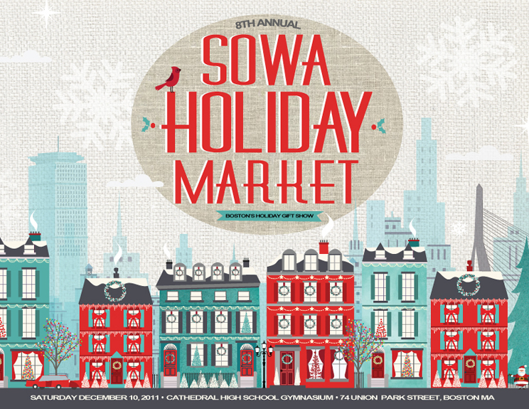 Sowa Holiday Craft Fair Boston