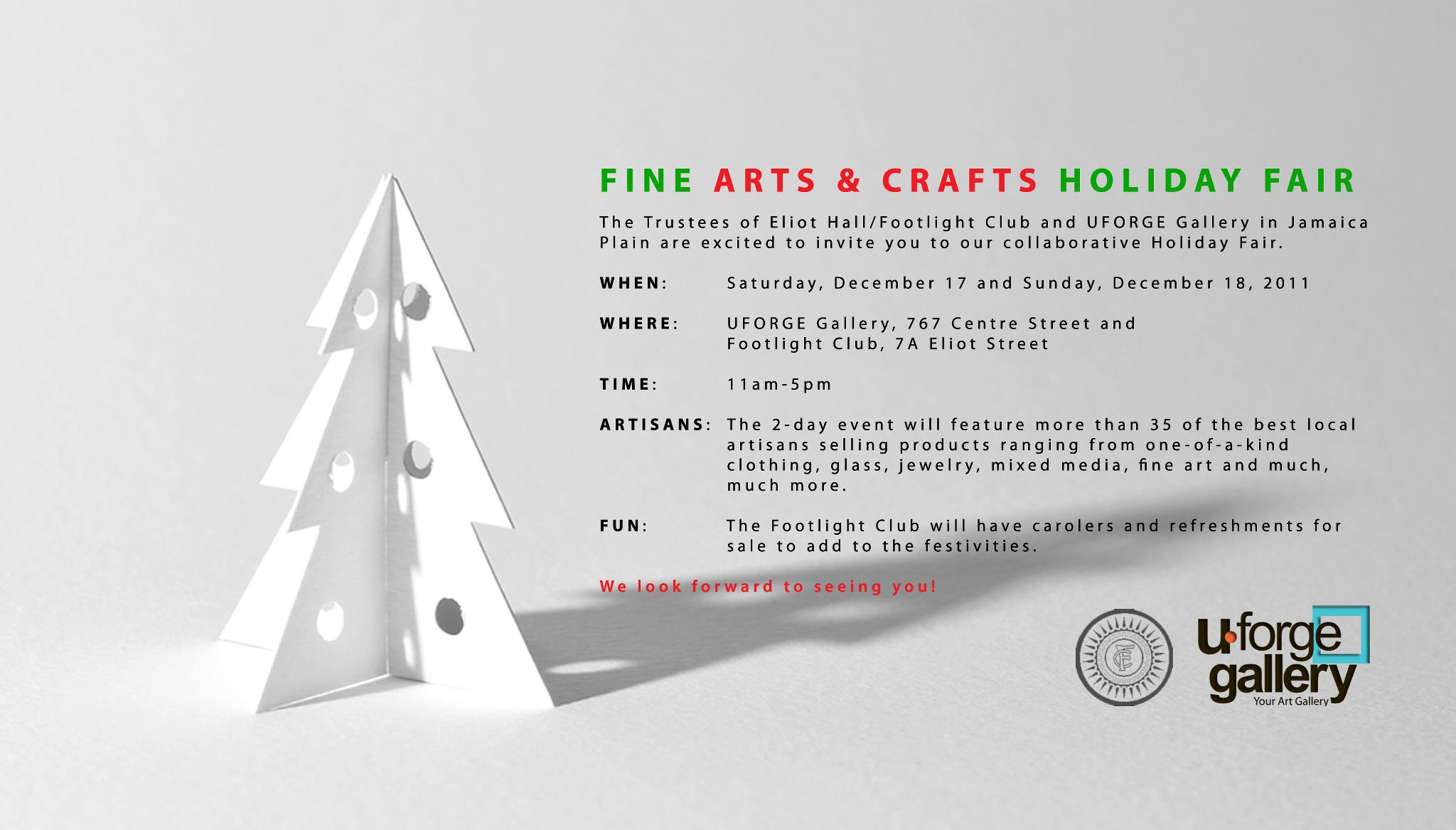 more boston holiday events craft fairs coming up what